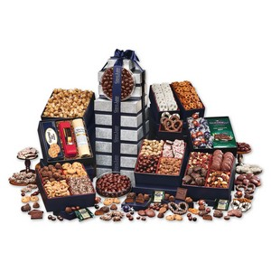 Ultimate Office Party Gourmet Food Gift Tower