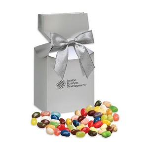 Jelly Belly Jelly Beans in Silver Premium Delights Gift Box