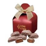 Butter Almond Toffee in Red Supreme Treats Gift Box