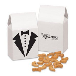 Tuxedo Gift Box with Extra Fancy Jumbo Cashews