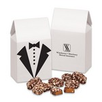 Tuxedo Gift Box with English Butter Toffee