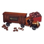 1920 Tractor-Trailer Truck with Chocolate Covered Almonds