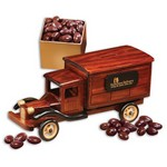 1935-Era Delivery Truck with Chocolate Covered Almonds