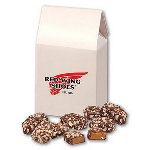 English Butter Toffee in White Gable Box