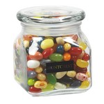 Contemporary Glass Jar - Jelly Belly Jelly Beans (10 oz.)