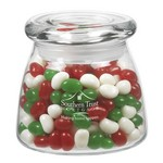 Vibe Glass Jar - Holiday Gourmet Jelly Beans (12.25 oz.)