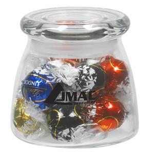 Vibe Glass Jar - Lindt® Truffles (12.25 oz.)