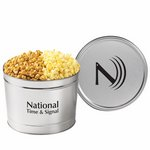 2 Way Popcorn Tins - Caramel & Classic Butter (1.5 Gallon)
