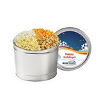 4 Way Popcorn Tins - (1.5 Gallon)