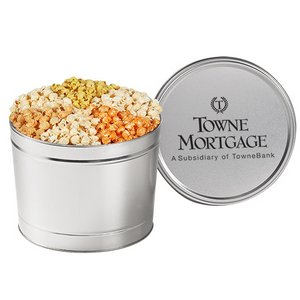 6 Way Savory Popcorn Tin (1.5 Gallon)