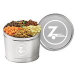 6 Way Snack Tins - (1.5 Gallon)