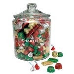 Hershey's Holiday Mix in Gallon Glass Jar