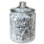 Gallon Glass Jar - Hershey's Kisses