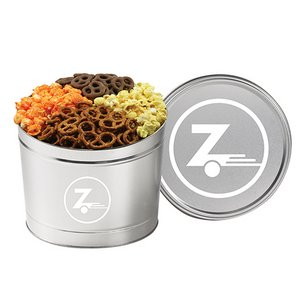 4 Way Ultimate Snack Tins - (1.5 Gallon)