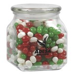 Contemporary Glass Jar - Holiday Gourmet Jelly Beans (20 oz.)