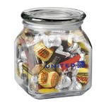 Contemporary Glass Jar - Hershey's? Everyday Mix? (20 oz.)