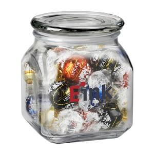 Contemporary Glass Jar - Lindt? Truffles (20 oz.)