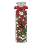 Glass Hydration Jar - Holiday Gourmet Jelly Beans (16 oz.)