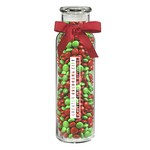 Glass Hydration Jar - Holiday M&M's (16 oz.)