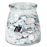Vibe Glass Jar - Hershey's Kisses (27 oz.)