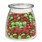 Vibe Glass Jar - Holiday M&M's (27 oz.)
