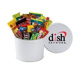 2 Gallon Candy, Popcorn and Cookies Crowd Pleaser Tin