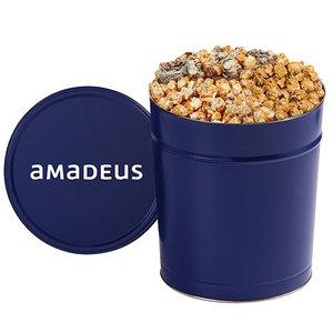 3 Way Gourmet Popcorn Tin (3.5 Gallon)
