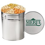6 Way Savory Popcorn Tin (6.5 Gallon)