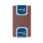 1 oz Belgian Chocolate Bar with Corporate Color Nonpareils