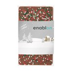 1 oz Custom Chocolate Bar with Holiday Nonpareil Sprinkles
