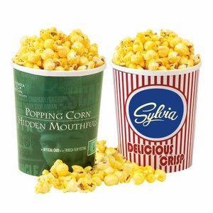 Movie Theater Tub - Butter Popcorn with Lid