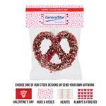 Precious Pretzel Chocolate Covered Header Bag