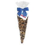Peanut Butter Cup Popcorn Cone Bag (large)
