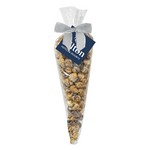 White & Dark Chocolate Swirl Popcorn Cone Bag (large)