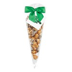 Chocolate Pretzel & Potato Chip Popcorn Cone Bag (small)