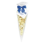 White Cheddar Popcorn Cone Bag (small)