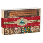 Do-It-Yourself Chocolate Covered Pretzel Kit Gift Box