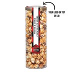 Executive Popcorn Tube - White & Dark Chocolate Swirl Popcorn