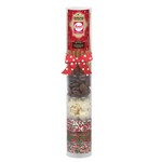 Large Do-It-Yourself Chocolate Covered Pretzel Kit in Tube (Holid