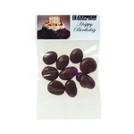 Chocolate Raisins in Header Bag (1 oz.)