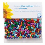 Chocolate Sunflower Seeds (Gemmies?) in Header Bag (2 oz.)