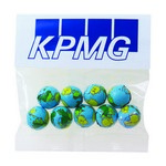 Chocolate Earth Balls in Header Bag (2 oz.)