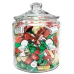 Half Gallon Glass Jar - Hershey's Holiday Mix