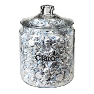 Half Gallon Glass Jar - Hershey's Kisses