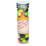 Large Tubes with Silver Cap - Gourmet Jelly Beans