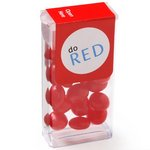 Mini Flip Top Candy Dispensers - Red Hots?