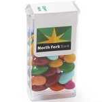 Mini Flip Top Candy Dispensers - Chocolate Covered Sunflower Seed