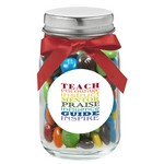 4 oz. Glass Mason Jar with M&M's?