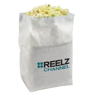 White Bag with Custom Imprints (3.3 oz.)