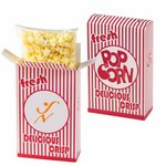 Striped Popcorn Box - Butter Popcorn